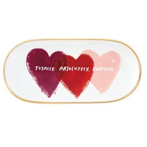 Totally Absolutely Forever Hearts Trinket Tray